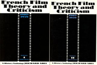 French Film Theory and Criticism, 2 vols.--Volume I: 1907-1929 &...