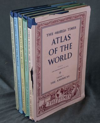 The Times Atlas of the World: Mid-Century Edition--Volumes 1-5 (Five...