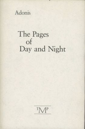 The Pages of Day and Night (INSCRIBED)
