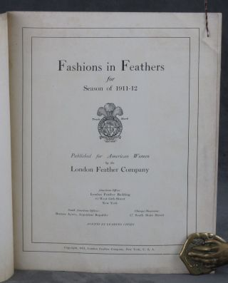 Fashions in Feathers for Season of 1911-12