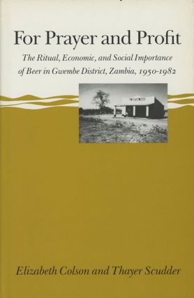 For Prayer and Profit: The Ritual Economic and Social Importance...