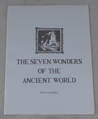 The Seven Wonders of the Ancient World (SIGNED, LIMITED EDITION)