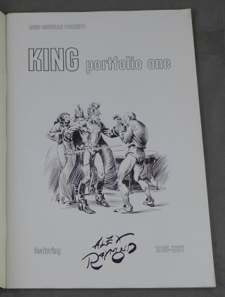 Russ Cochran presents King Portfolio One, featuring Alex Raymond, 1935-1937