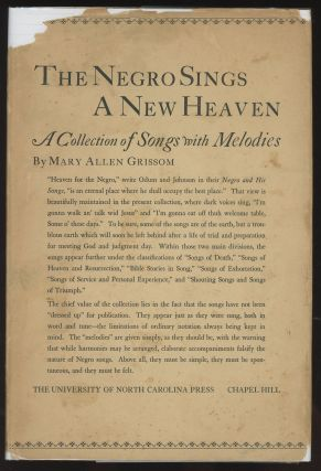 The Negro Sings a New Heaven