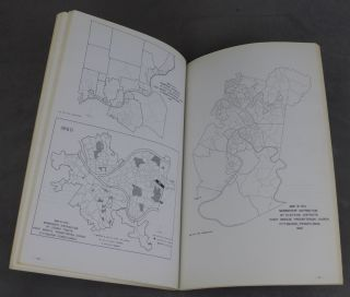 Spot Maps for an Overview of Presbyterianism in Allegheny County, Pennsylvania