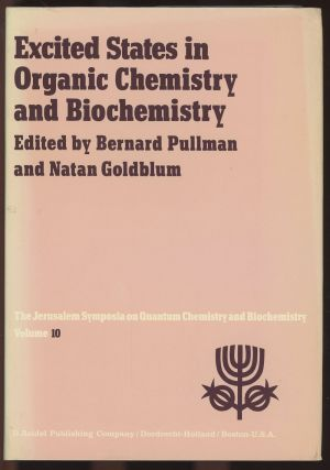 Excited States in Organic Chemistry and Biochemistry: Proceedings of the...