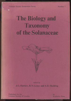The Biology and Taxonomy of the Solanaceae (Linnean Society Symposium Series, Number 7). J. G....