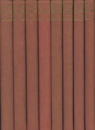 The Memoirs of Jacques Casanova de Seingalt 1725-1798 (Eight volume complete set). Jacques...