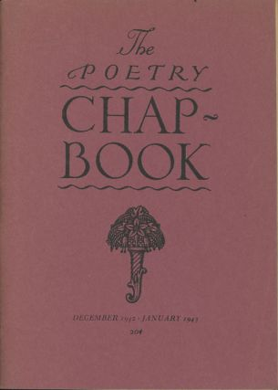 The Poetry Chap-Book, December 1942-January 1943. George Abbe, Stanton A. Coblentz John Ritchey
