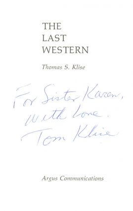 The Last Western (Signed first edition)