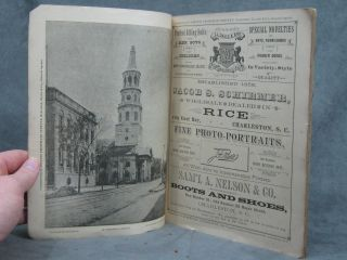 Views of Prominent Places in Charleston, South Carolina, U.S. A. (1885)