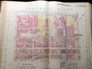 Real Estate Plat-Book of the City of Pittsburgh, Vol. 3, comprising 1st to the 12th Wards and 15th, 16th & 17th Wards (1900)