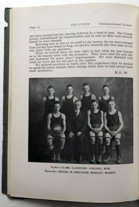 Indiana PA High School: The Junta, Commencement Number, June 1919