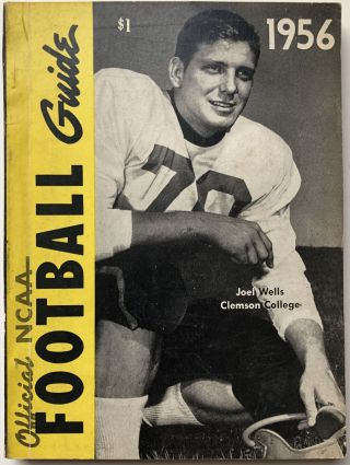 Official National Collegiate Athletic Association (NCAA) Football Guide 1956