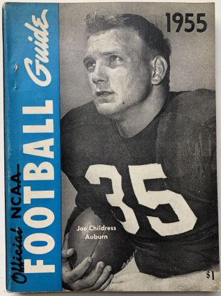 Official National Collegiate Athletic Association (NCAA) Football Guide 1955