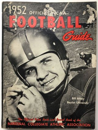 Official National Collegiate Athletic Association (NCAA) Football Guide 1952