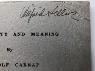 Testability and Meaning - Wilfrid Sellars copy