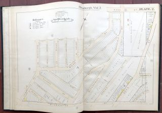 Atlas of the City of Pittsburgh, Vol. 2, comprising the 12th, 13th & 14th Wards (Oakland, Hill District, etc.)