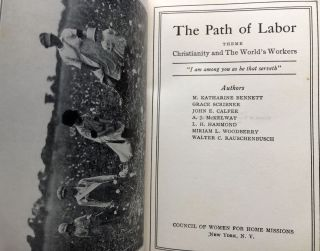 The Path of Labor, Theme: Christianity and the World's Workers