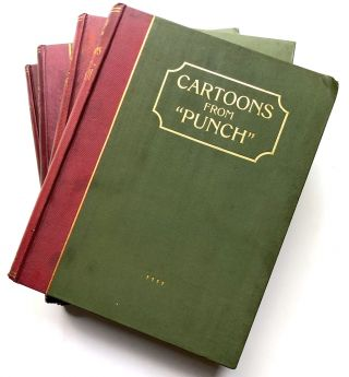 "Cartoons from ""Punch"" - 4 volumes (1906"