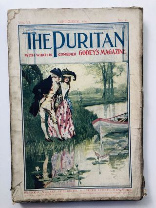 September 1899 The Puritan a Journal for Gentlewomen, with which is combined Godey's Magazine....