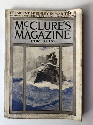 McClure's Magazine, July 1898. Octave Thanet Anthony Hope