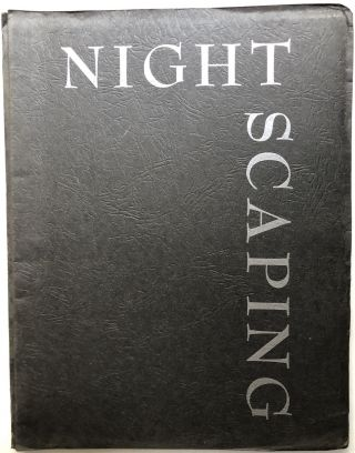 "Nightscaping, a Handbook for Outdoor Lighting, plus 1964-65 39 pp catalog of Loran ""Nightscaping""..."