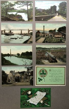 9 Ca. 1910s postcards of Ireland: Killarney, Drogheda, Londonderry, Myrtle Grove at Youghal, St....