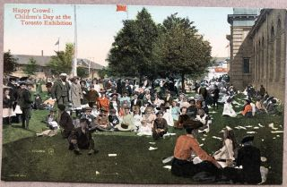 6 1910 postcards from the Toronto Exhibition