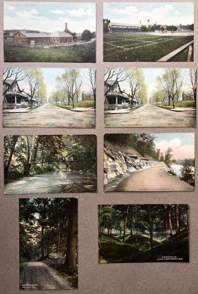 8 1910 postcards of Washington, PA and nearby
