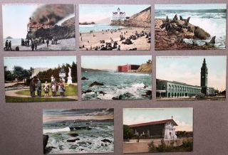 8 1910s postcards of San Francisco, CA