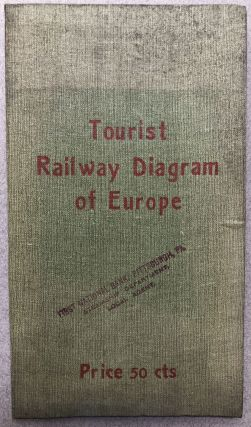 Tourist Railway Diagram of Europe, showing the Faires - Times - Distances between the Principal...