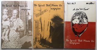 The Spirit That Moves Us (literary journal), Nos. 1-3, September 1975, January 1976, May 1976....