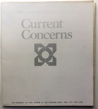 Current Concerns, 12 American Artists. University of Iowa Museum of Art
