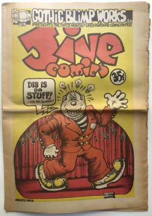 Jive Comics No. 1 1969. Vaughan Bode, Spain, Kim Deitch, Art Spiegelman, R. Crumb
