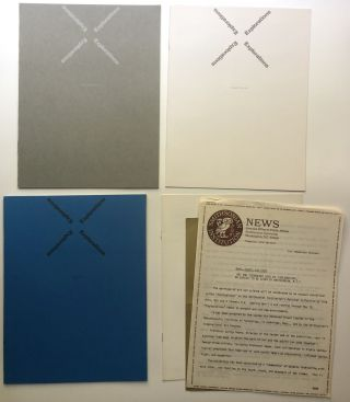 Explorations [Exhibition Co-Produced by the Smithsonian and MIT from Spring 1970]: 4 pamphlets --...