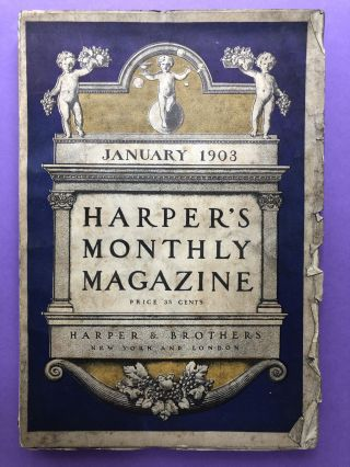 Harper's Monthly Magazine, January 1903. Marie Van Vorst Wu Ting-Fang