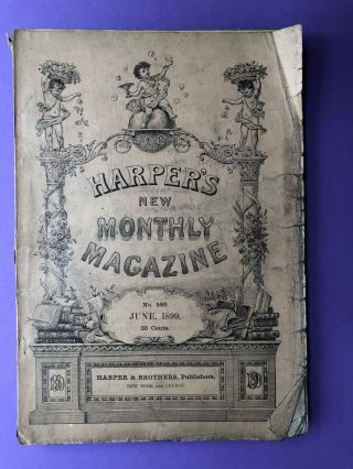 Harper's New Monthly Magazine, June 1899. Frederic Remington Henry Cabot Lodge