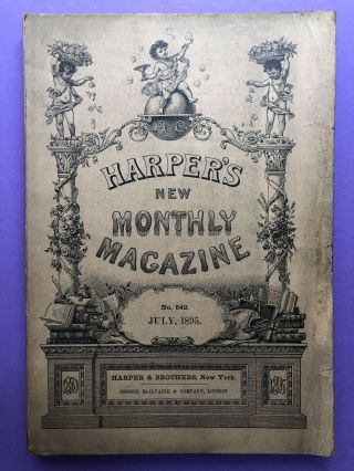 Harper's New Monthly Magazine, July 1895. Frederic Remington Thomas Hardy