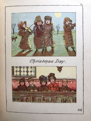 King Christmas, After Caldecott, Kate Greeaway, Miss Cassella & Others