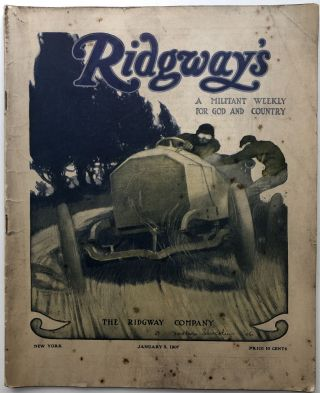 Ridgway's, a Militant Weekly for God and Country, Vol. 1 no. 14, January 5, 1907. Samuel Hopkins...