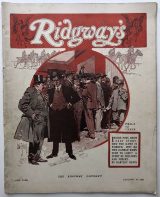 Ridgway's, a Militant Weekly for God and Country, Vol. 1 no. 16, January 19, 1907. Lindsay...