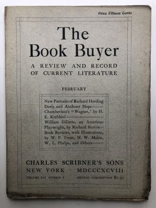The Book Buyer, a Review and Record of Current Literature, February 1898. Hamlin Garland Russell...