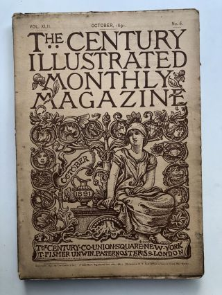 The Century Illustrated Monthly Magazine, October 1891. Hiram S. Maxim George Kennan