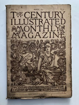 The Century Illustrated Monthly Magazine, March 1891. John G. Bourke Celia Thaxter