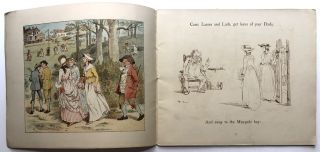 Group of 8 books illustrated by Caldecott: The Diverting History of John Gilpin, The Queen of Hearts, The Three Jovial Huntsmen, Mrs. Mary Blaize: An Elegy on the Glory of her Sex, The Babes in the Wood, Lob Lie-By-The-Fire or Luck of Lingborough (by Ewing), Daddy Darwin's Dovecot (Ewing), Come Lasses and Lads