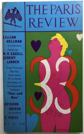 Paris Review No. 33, Winter-Spring 1965. Denise Levertov Lillian Hellman, Man Ray