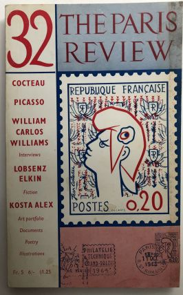 Paris Review No. 32, Summer-Fall 1964. Jean Cocteau Pablo Picasso, etc, Charles Olson, William...