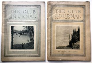 The Club Journal, August & September 1915: The National Road (Rt. 40) in Western PA - Farmington,...