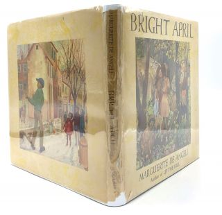 Bright April - signed first edition. African American interest, Margueriote De Angeli